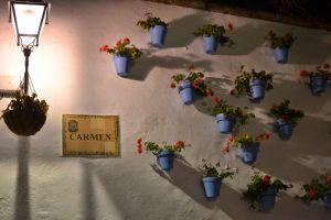 Une plaque de rue en Andalousie