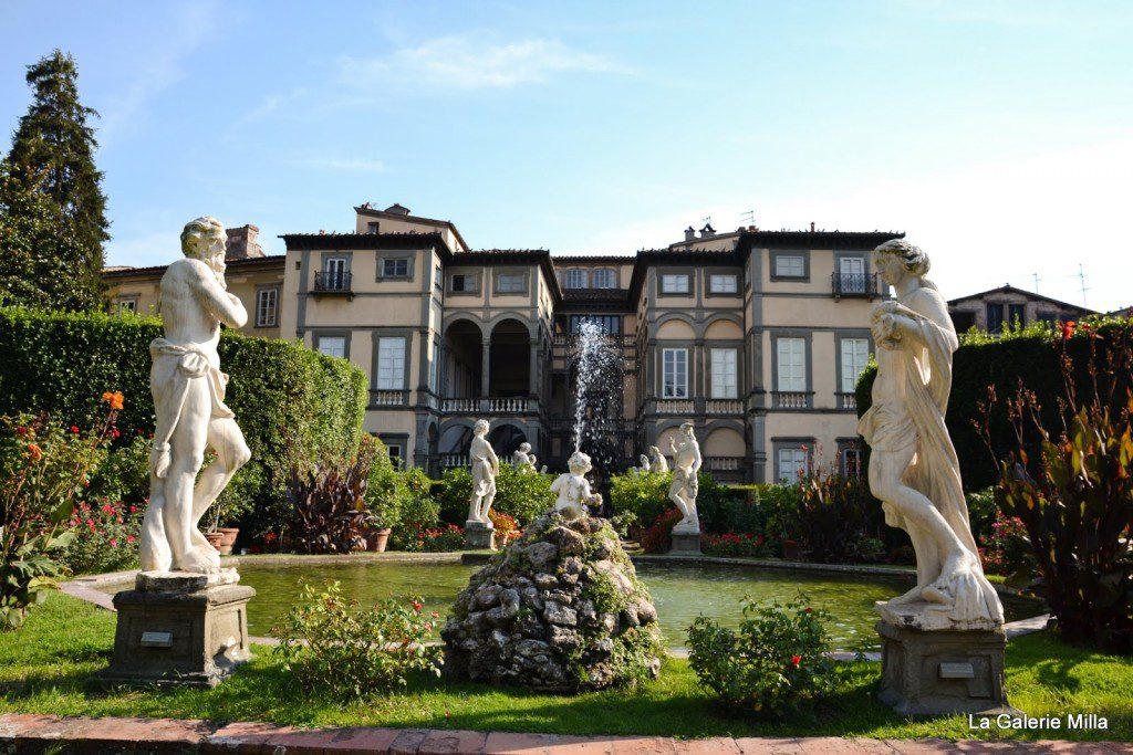 fontanaine du palazzo pfanner