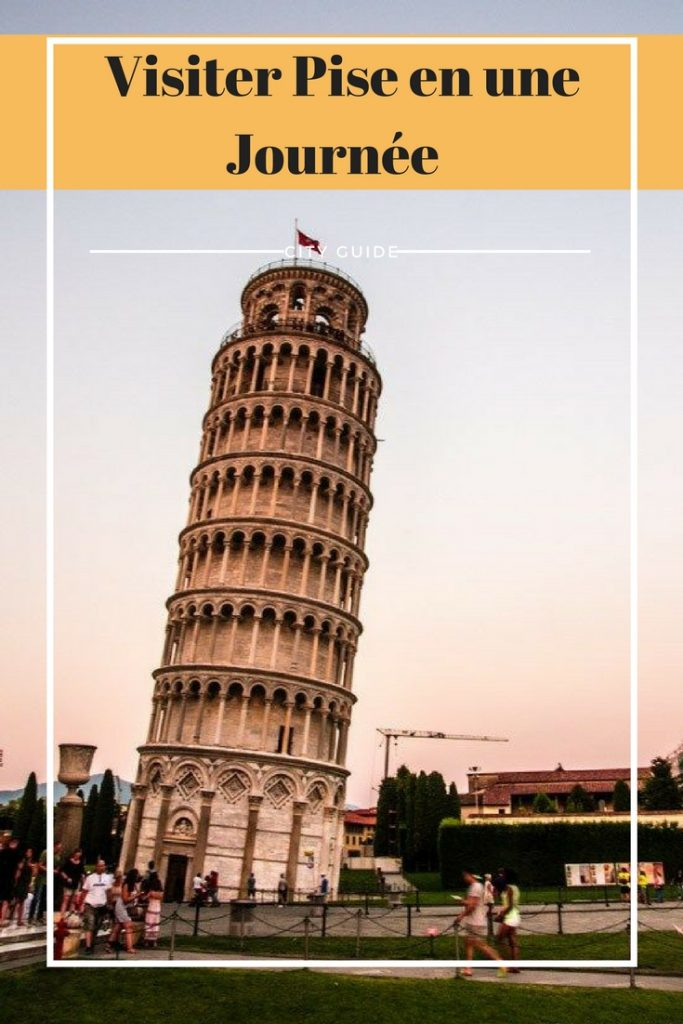 Découvrez tout ce qu'il y a à visiter à Pise en un jour ! Que faut-il voir, que faut-il réserver. #italie #pise