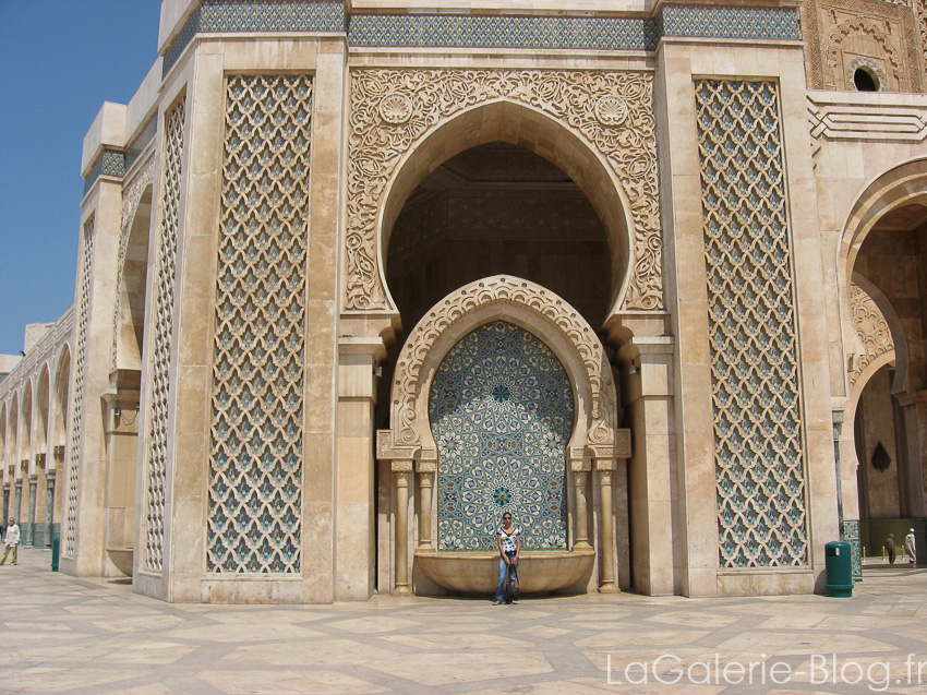 porte orientale mosquée hassan II