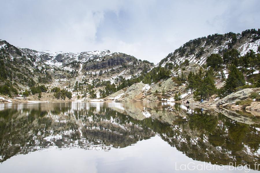 vue sur le lac achard
