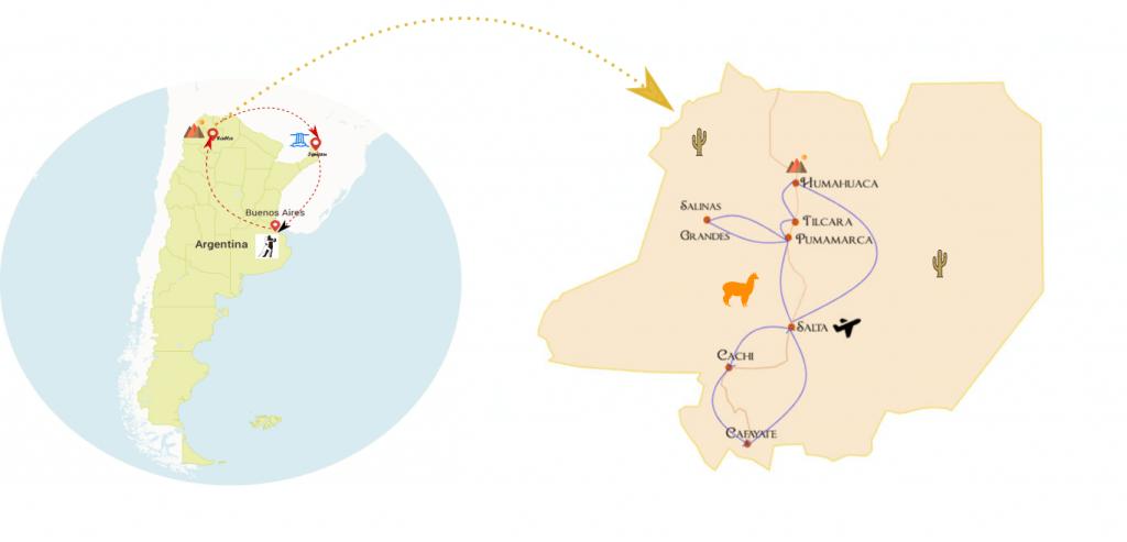 itinéraire argentine