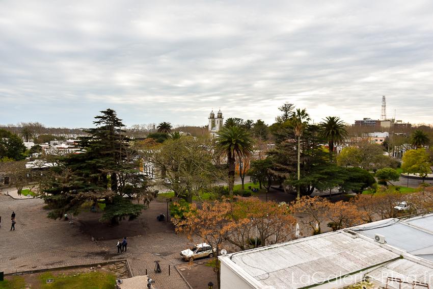 vue sur le centre ville de colonia