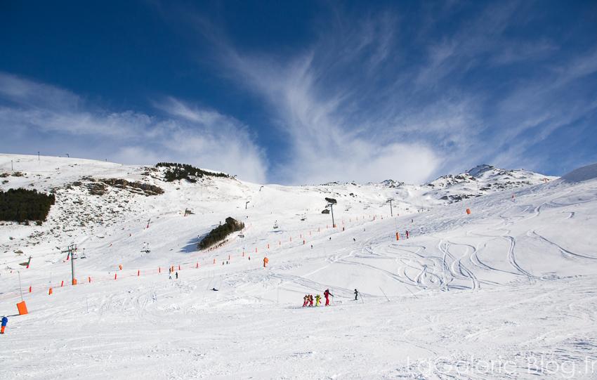 piste de ski débutants