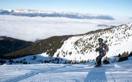 skieur en hors piste