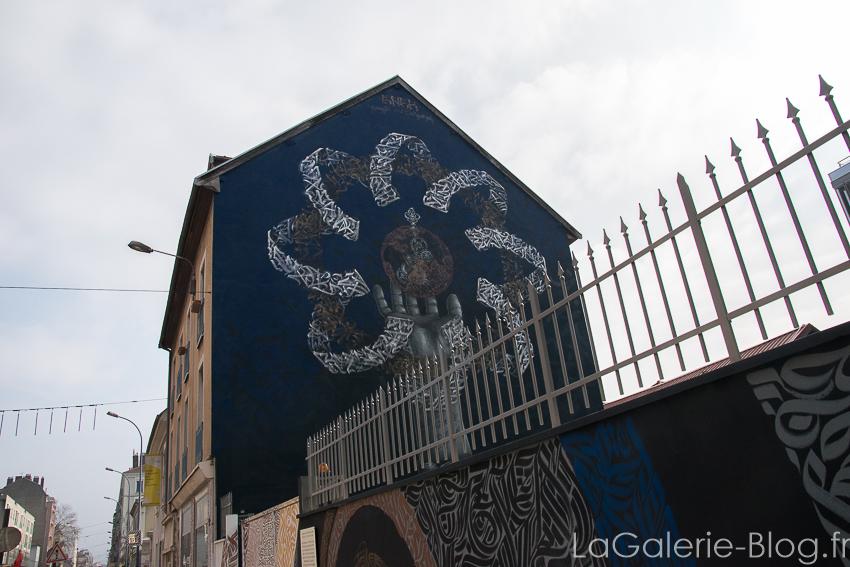 Fresque grenoble art festival