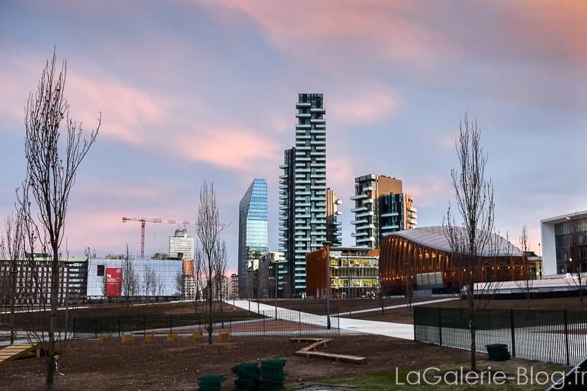 immeubles futuristes milan