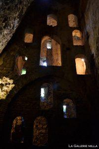 ouverture dans la mina