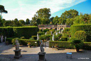 statue du jardin palazzo pfizzer