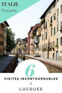 Visite de Lucques en toscane, Italie