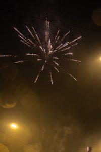 feux d'artifice Berlin nouvel an