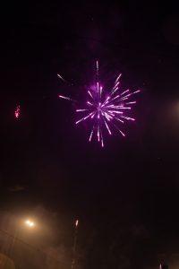 feux artifice rue Berlin réveillon
