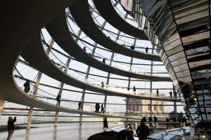 intérieur du parlement allemand