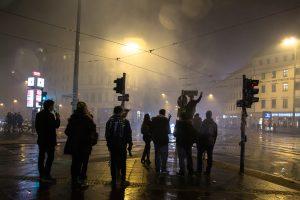 jeunes à Berlin au nouvel an