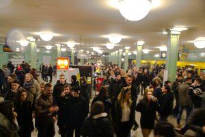 métro de berlin au nouvel an