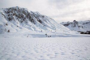 paysages tignes le lac