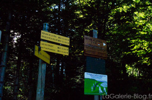 panneaux affcihage randonnée