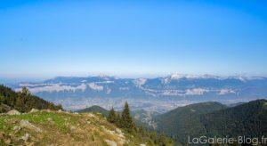 vue sur le massif chartreuse