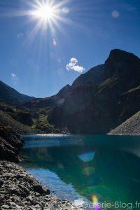 vue du lac de montagne