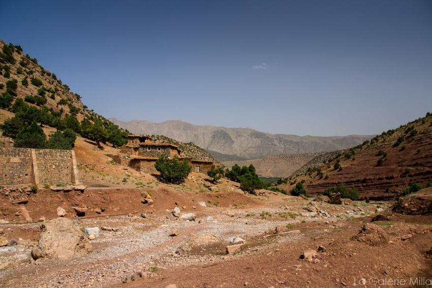 vue en randonnée au maroc