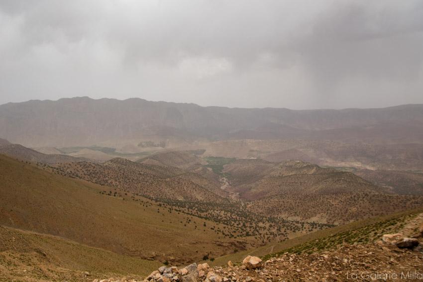 vue depuis le sommet de la randonnée