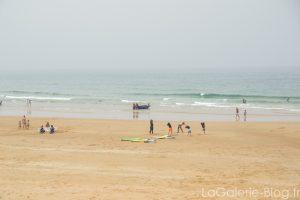 etirement avant le surf
