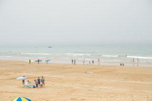 plage du spot surf taghazout