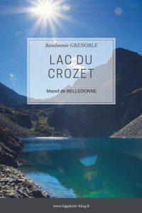 affcihe randonnée du lac de crozet belledonne