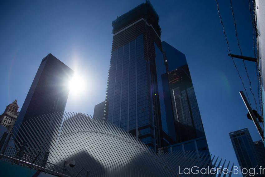 vue d'immeubles du financial district