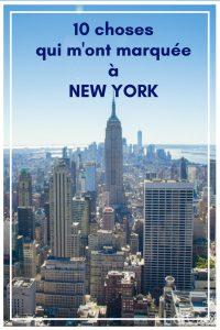 Découvrez les 10 choses qui m'ont me plus étonnée à New York, les new yorkais et leurs habitudes !