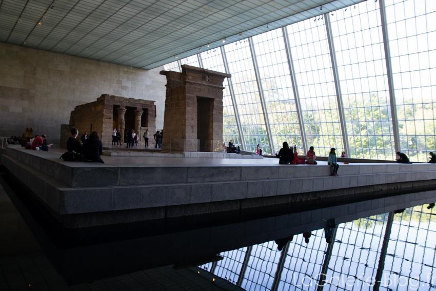 une salle du musée le MET