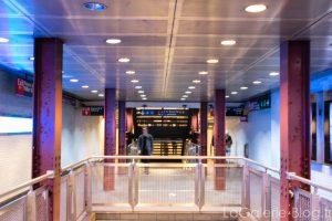 les couloirs du metro de new york