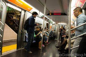 photo du metro new yorkais