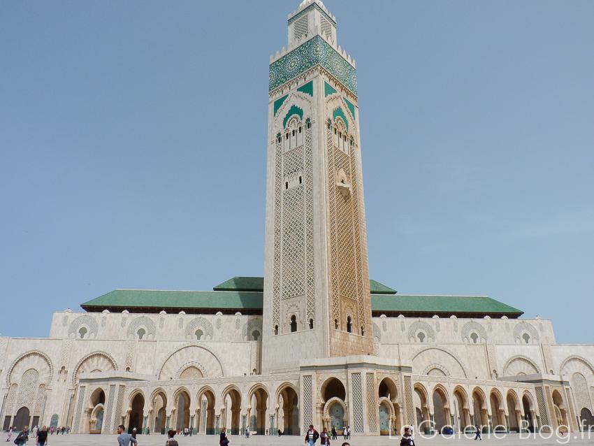 mosquée hassan II vue globale