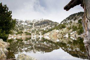 Randonnée au lac achard