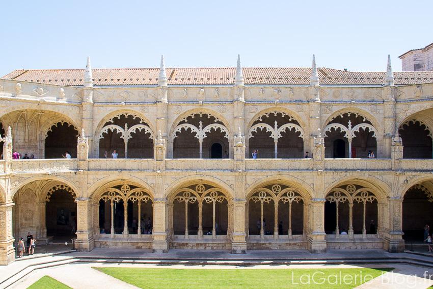 couloirs du Monastère des Hiéronymites