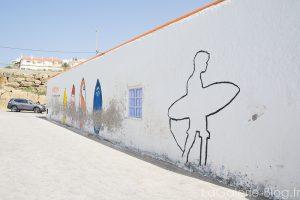 mur a cote du spot de surf el matadouro