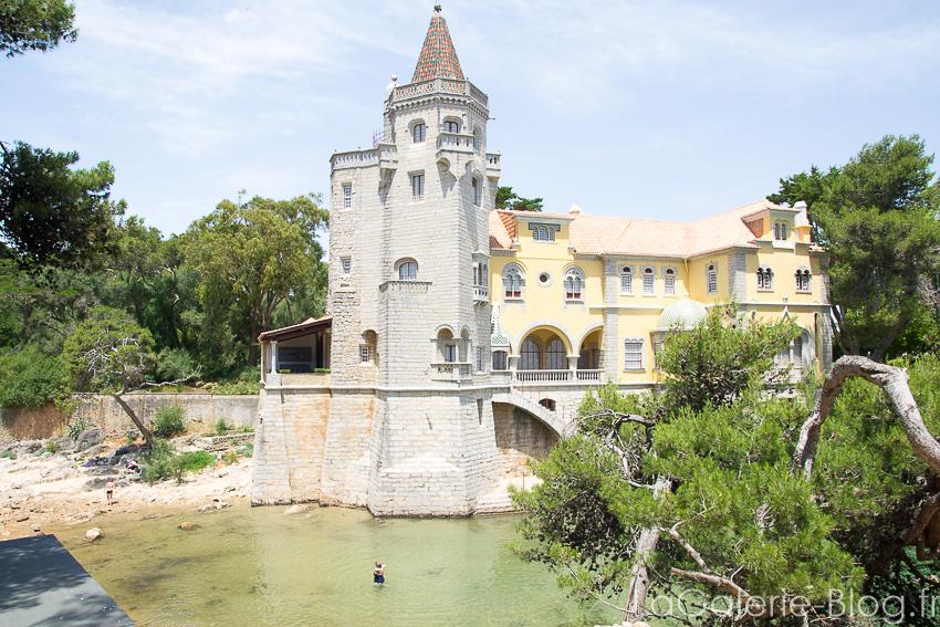 chateau aux alentours de cascais