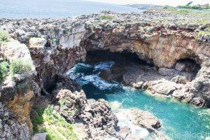 falaise sur la mer à cascais