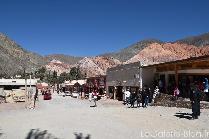 rue principale de pumamarca, argentine