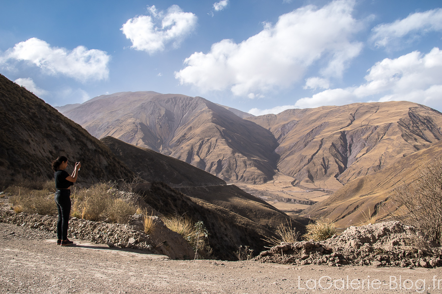paysage montagneux autours de salta
