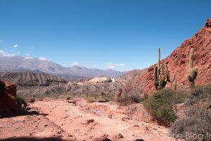 Uquia, panorama du desert