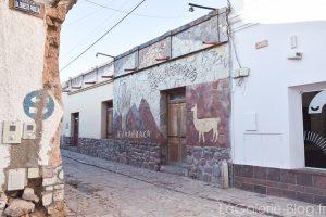 façade de restaurant à humahuaca
