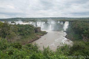 panorama des chutes iguazu