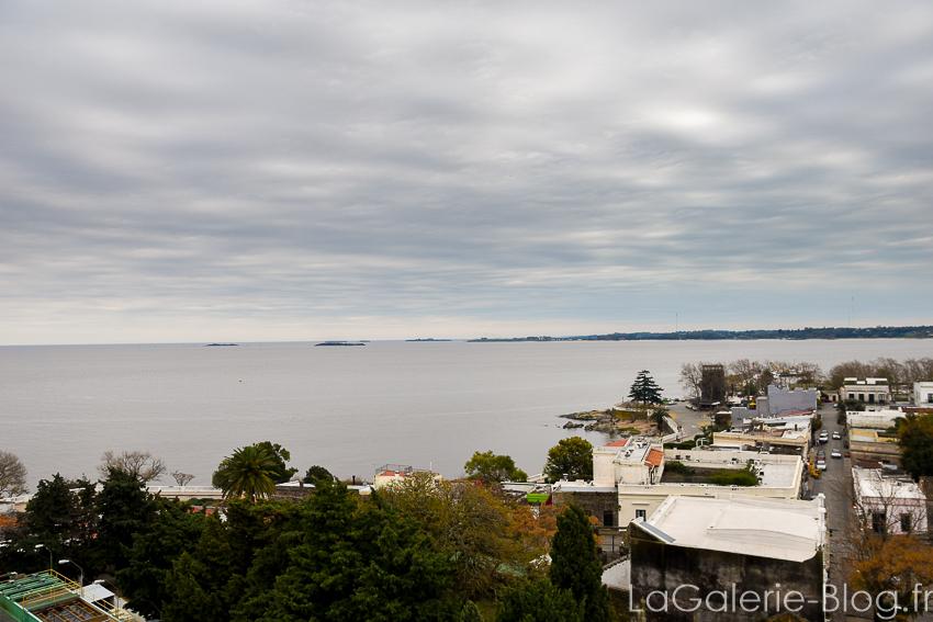 vue de la mer depuis le phare