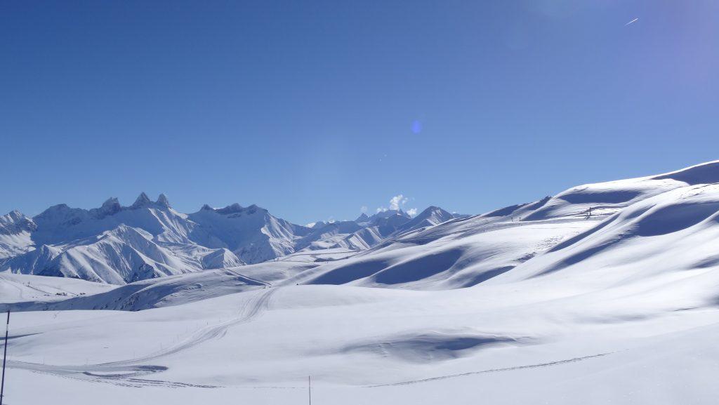 vue de la station de ski