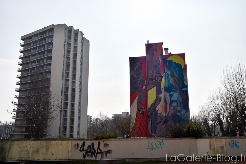 immeuble fresque grenoble