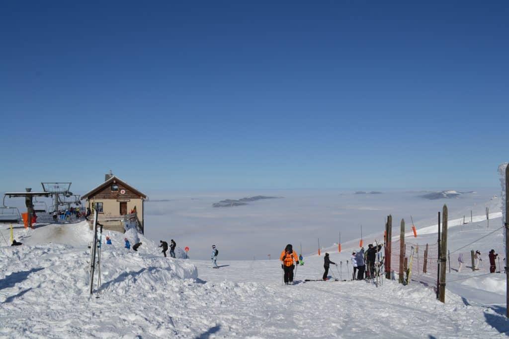 vue de la station de ski villars de lans
