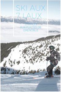 découvrez le ski dans une des meilleures stations de l'agglomération de Grenoble !