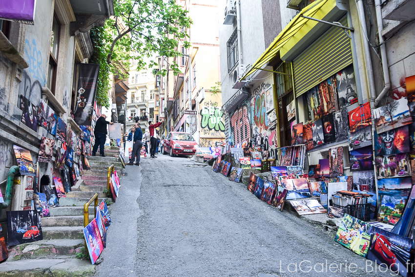 quartier galata et Beyoglu